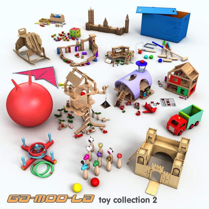 complete toys 3d model