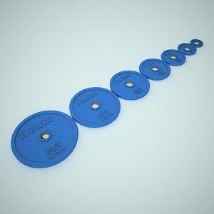 3d model weight ivanko