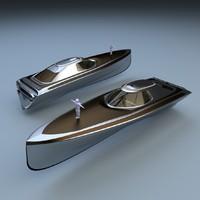 blender motor boat