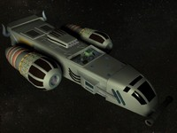 3d xpress fighter spacecraft model
