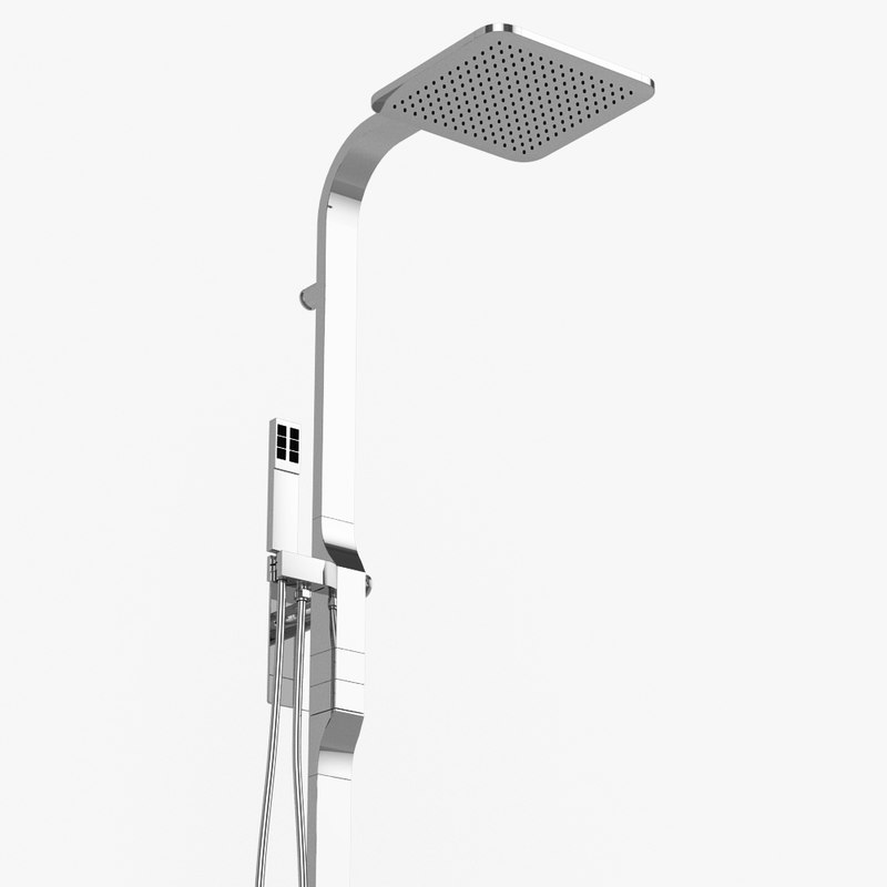 shower column rem zazzeri 3d obj