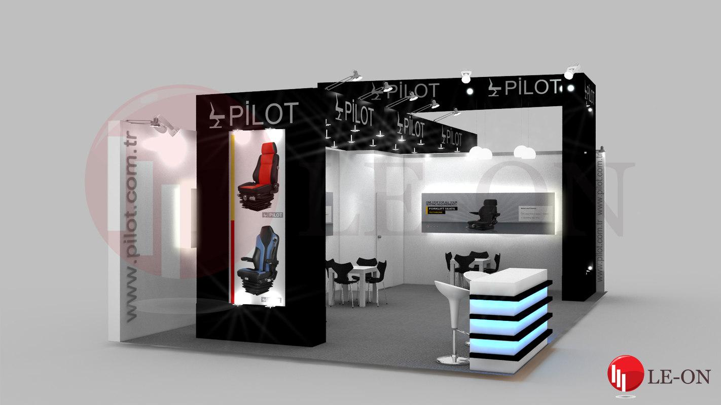 pilot exhibition stand design max