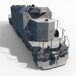 maya emd train engine