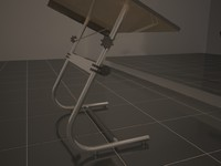 3ds max drawing table