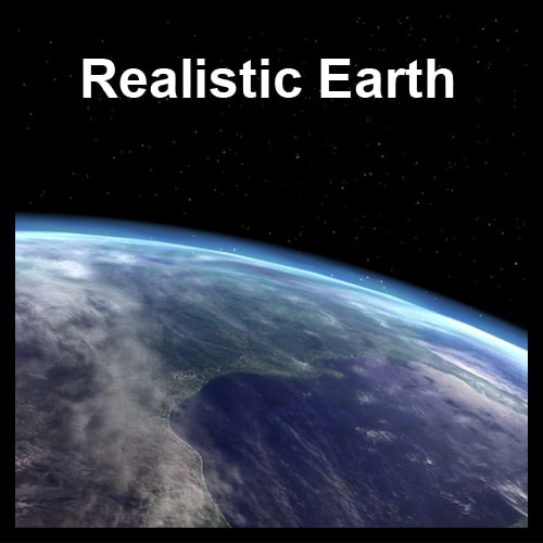 max photorealistic earth