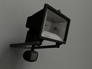flood light obj