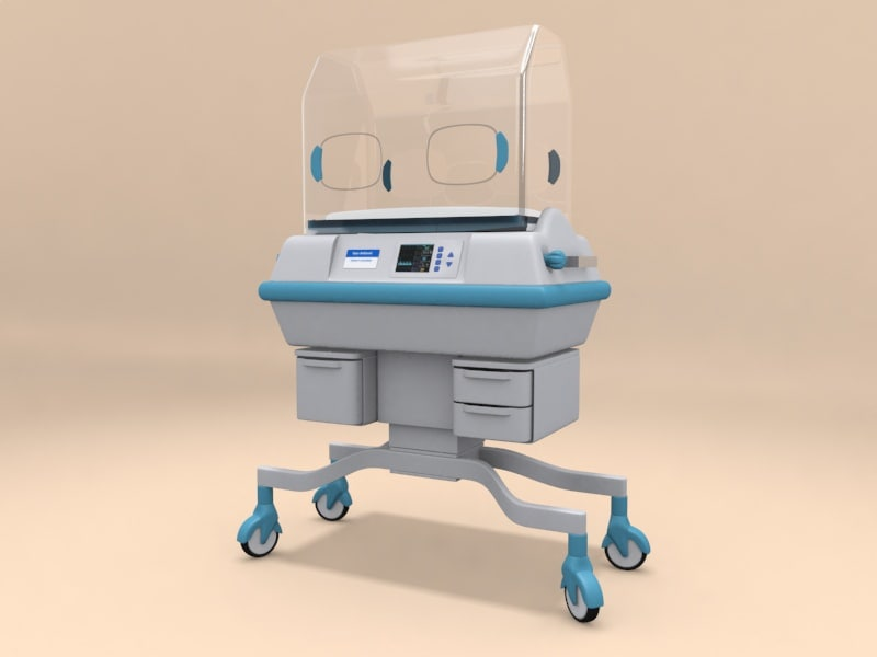 3d infant incubator