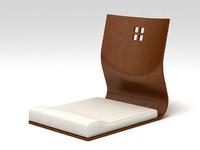 3ds max chair hagoromo
