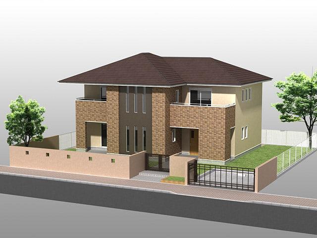 3d house02 model