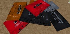 cassette tape obj