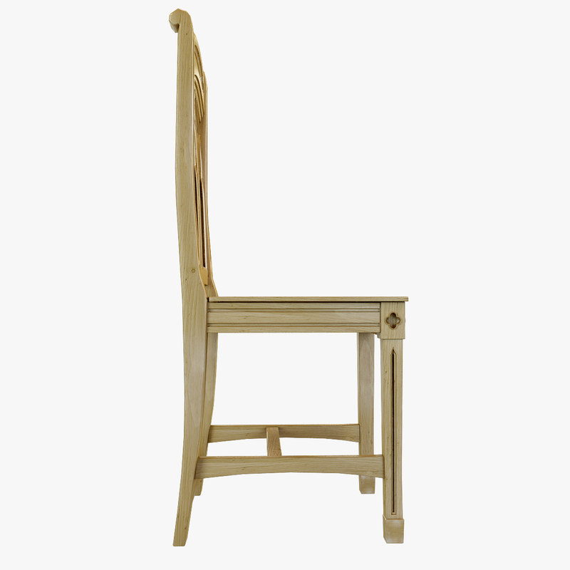 3ds Max Bishop Pine Chair