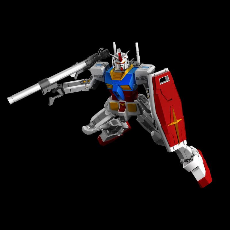 gundam rx78-2 ma free