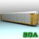Railroad autorack V978 TTX