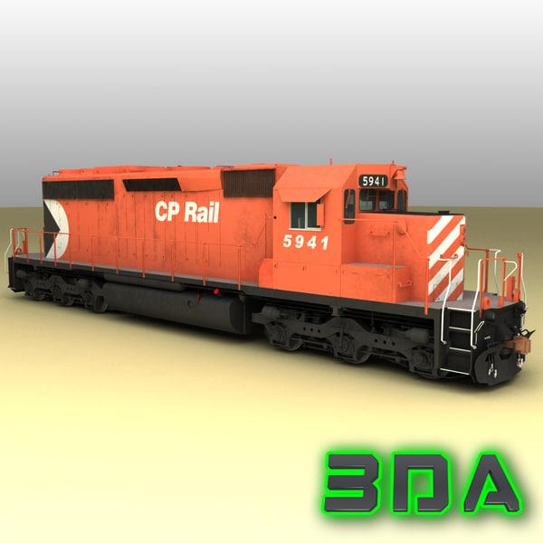 emd sd40-2 engines cp max