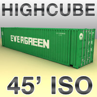 ISO shipping container 45 feet highcube