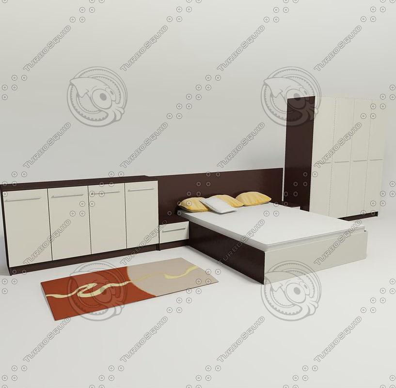 bed pillow mattre model