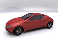 free max model sport fast supercar