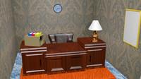 work room 3d model