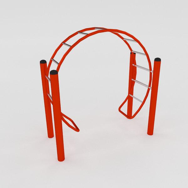climbe wheel 3d obj
