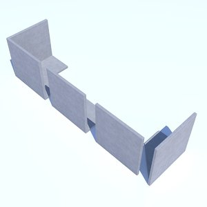 3dsmax retaining wall