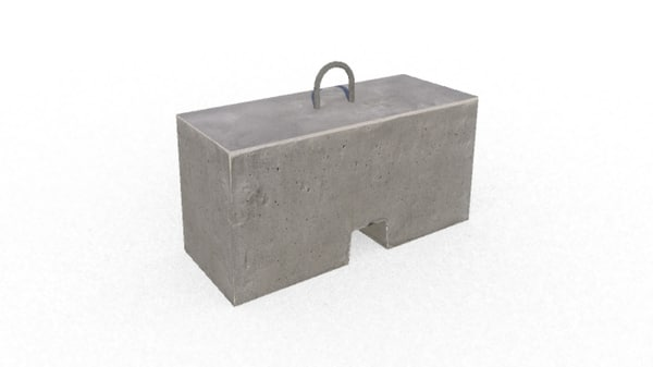 gameready concrete block new x