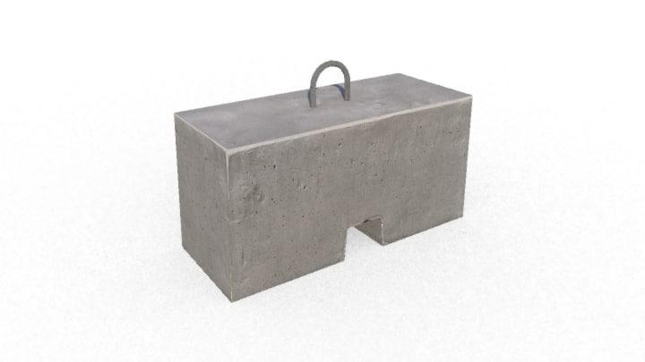 gameready concrete block new x