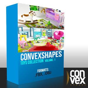 obj convexshapes toys