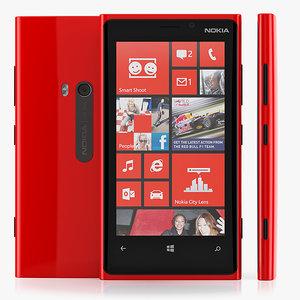 nokia lumia 920 3d c4d