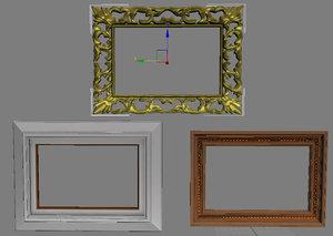 3d picture frames