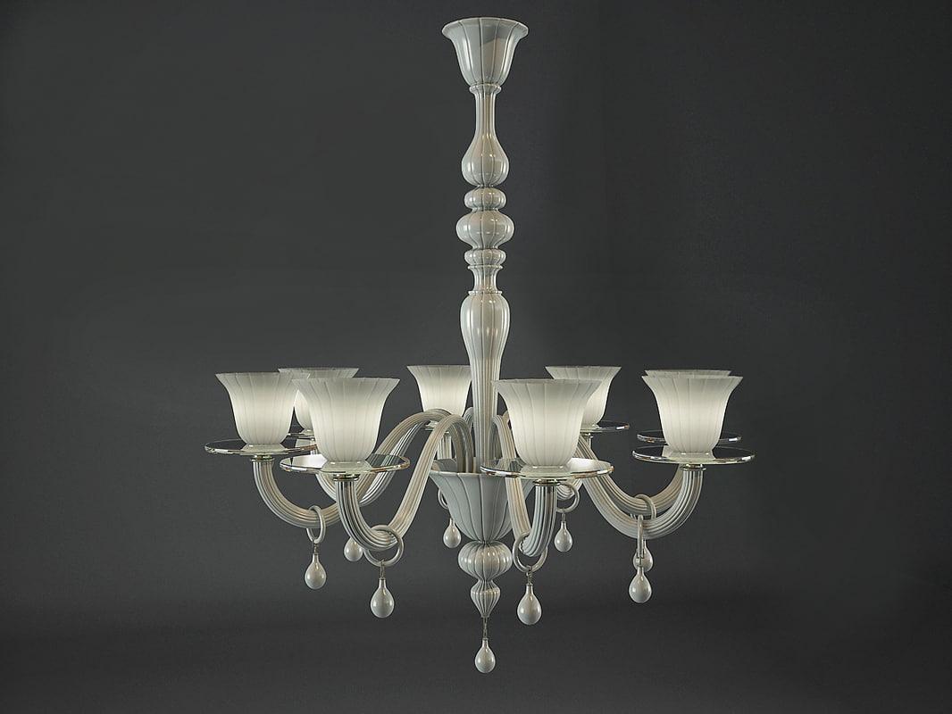3d max chandelier vain 4439 8