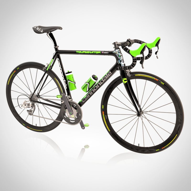 3dsmax cannondale bicycle