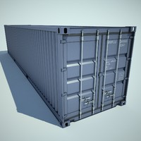 container cargo 3d model