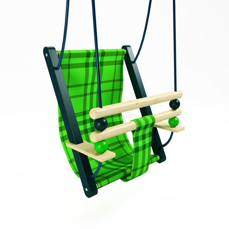 3ds max swing children s