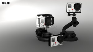 gopro 3 waterproof 3d max