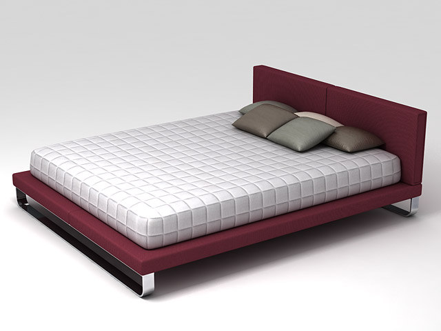 bed samsara 3d max