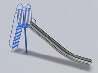slide 02 3d model