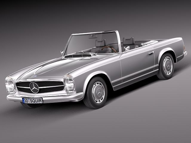 mercedes benz sl mercedes-benz c4d