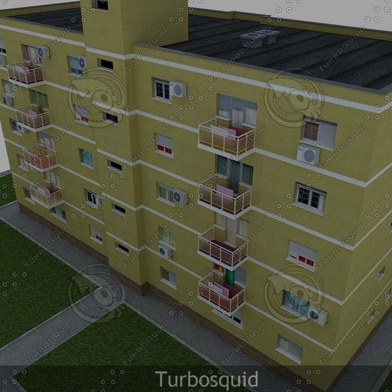 house building 3d ma
