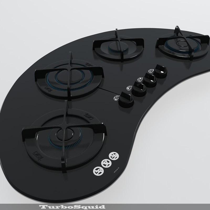 3d hot teka cooker