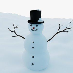 snowman decoration garden max