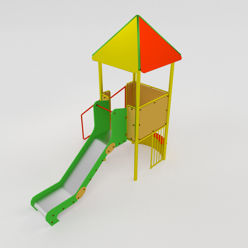 tower slide 3d model