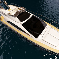 3d riva yatch