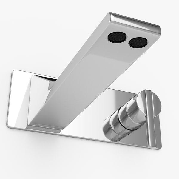 3d model wall-mount tap rem zazzeri
