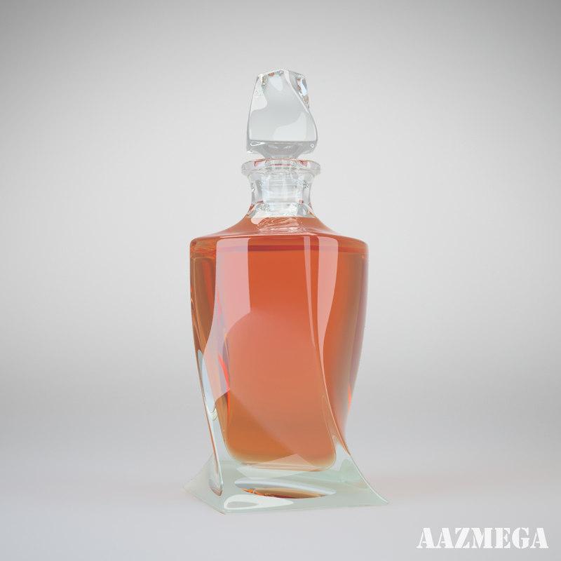 3ds bottle whisky
