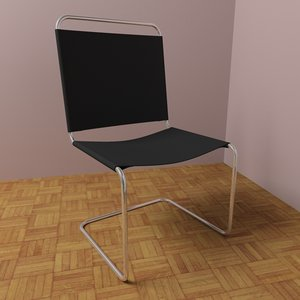 max modern leather chair