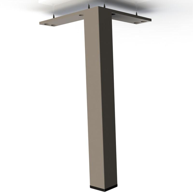 3d leg reliance furniture model