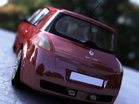 renault megane rs 3d model