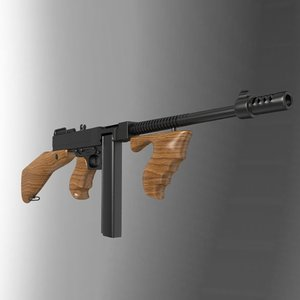 3d gun thompson 1921 model