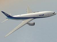 3d boeing 777-200 er ana