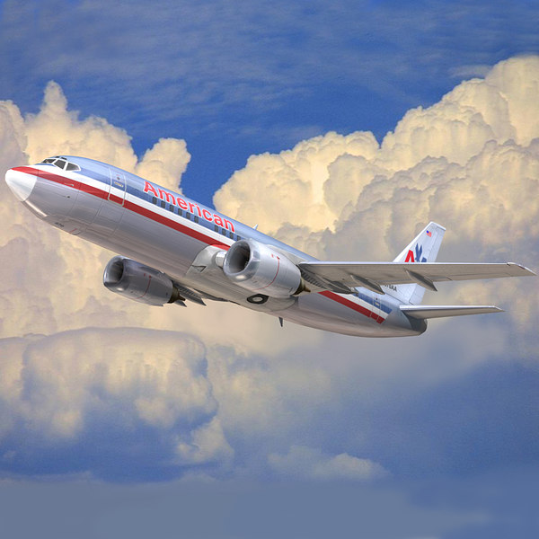 boeing 737 american airlines 3ds